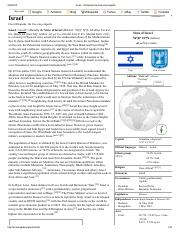 Israel - Wikipedia, the free encyclopedia