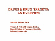 1-Lecture 1b-Drugs, Drug Targets and intermolecular bonding forces_EXAM_1