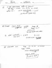 quiz3 (1) - Introduction to Analytical Chemistry Quiz#3 Name