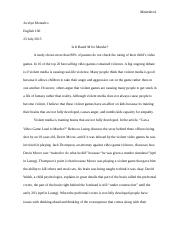 Essay #4 Final Draft