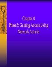 Chapter 8 Network Attacks