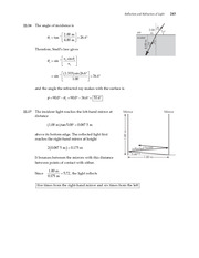 11_Ch 22 College Physics ProblemCH22 Reflection and Refraction of Light