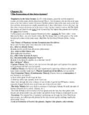 Astronomy, Chapter 10 Study Guide