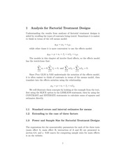 Stat 507 Factorial Treatment Designs