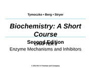 Chapter 8 Enzyme Mechanisms and Inhibitors