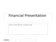 HCA270WK9FinancialPresentationDueSunday