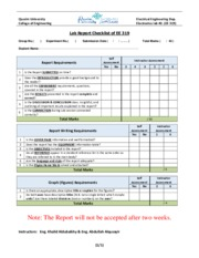 Lab Report Checklist_ EE319