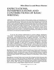 Lu and Horner - Expectations, Interpretations, and Contributions of Basic Writing.pdf