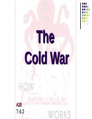 A28 Early Cold War.ppt