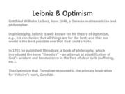 Liebniz and Voltaire PDF