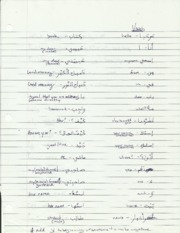 Arabic 101 Greetings Notes