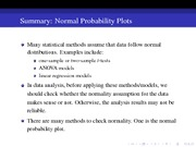 10 Normal Probability Plot