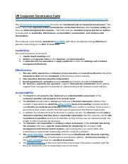 UK Corporate Governance Code - Evaluation checklist.docx