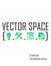 10. Vector spaces- Definition and examples.pptx