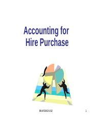 Topic 2 Hire Purchase A152.pptx
