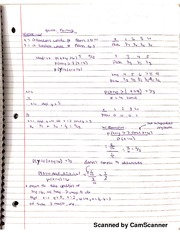 Chem 361B Lecture Review Notes
