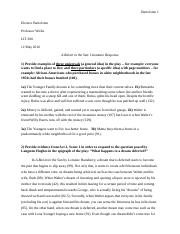 A Raisin in the Sun - Literature Response (EB).docx