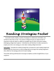 Reading Strategies Packet Revised Summer16.pdf