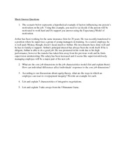 Management 3450 Final exam sample questions