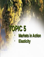 Hw Topic 5-Elasticity,Market Action 2016 SLOMAN)