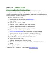 Test_2 Part 2 Study Guide Amazing Planet.docx