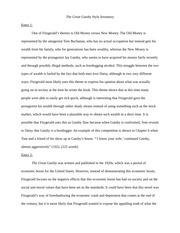 great gatsby analysis essay