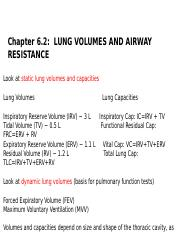 CHAPTER 6.2 LUNG VOLUMES AND AIRWAY RESISTANCE.ppt