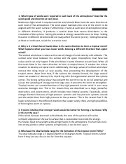 4 What was the ideal latitude range for the formation of the ...