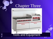 Ch 3 Tools and Equipment
