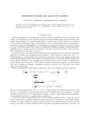 DEPENDENT PLANES AND ABSOLUTE ALGEBRA.pdf