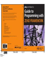 51. Guide to Programming with Zend Framework(1)