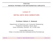 ECE216-Lecture-17-Metal-Gate-MOS-Capacitors