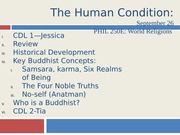 Buddhism Day 2 Six Realms of Rebirth and Four Noble Truths-2