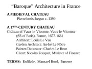 7ARCH2003 - Lect 16 - Baroque France