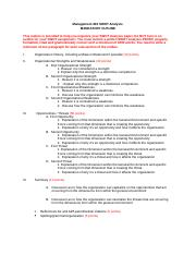 MGMT303 Mandatory SWOT_Outline_Revised.docx