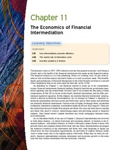 Money Banking and Financial Markets ch 11