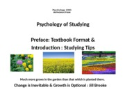 14th Edit-P P-Textbook Format & Intro-Psyc 2301.pptx