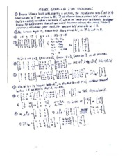 EXAM 2A 200 SOLUTIONS