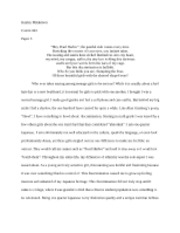 Poetry Performance Paper 3
