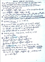 EXAM 2A SOLUTIONS