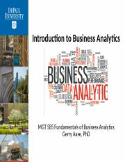 Introduction Business Analytics AaseGerry 20180831.pptx