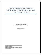 EncryptionResearchReview