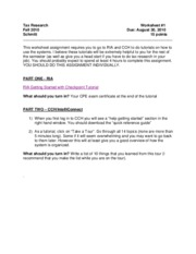 Worksheet_One