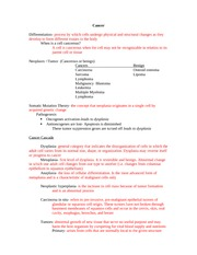 Oncology-Study Guide ATR385