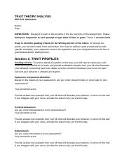 L2_ Assignment - Trait Theory Analysis - Template.docx