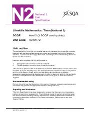 CfE_Unit_N2_LifeskillsMathematics_Time