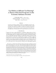 Tax Shelters or Efficient Tax Planning.pdf