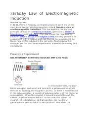 Faraday Law of Electromagnetic Induction.docx