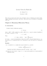 Math 523 Lecture 5 notes