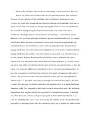 Four essay questions about the Kite Runner.docx